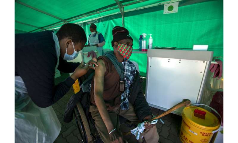 Alarm in Africa: Virus surges, vaccines grind to 'near halt'