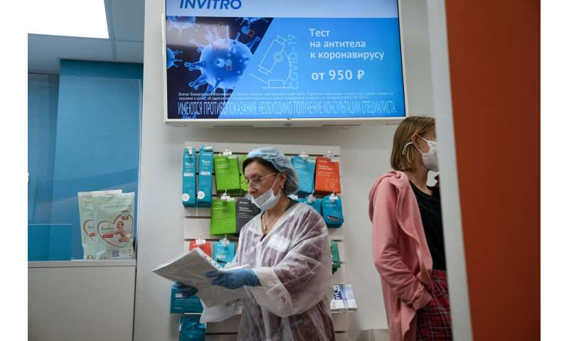 Antibody tests for COVID-19 remain popular in Russia