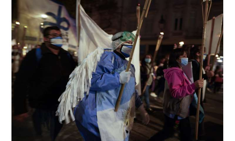 Argentina resumes strict pandemic lockdown after case surge