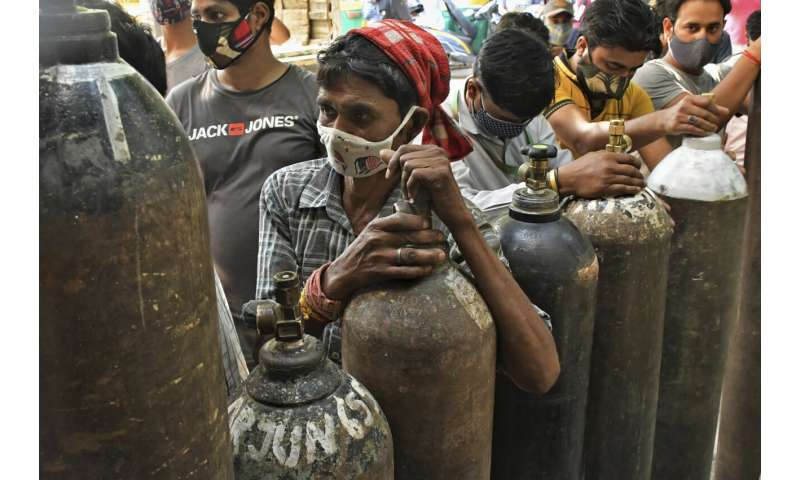 As cases grow, India's vaccination campaign falters