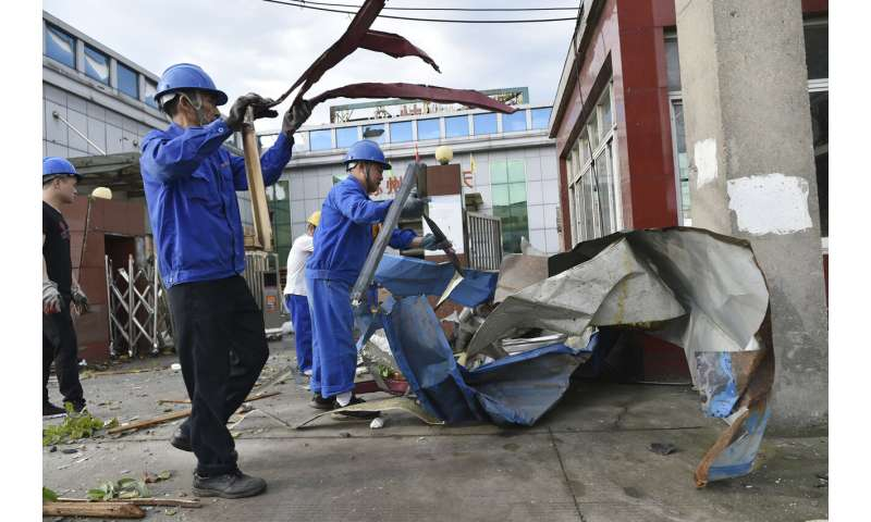 Back-to-back tornadoes kill 10 in China; over 300 injured