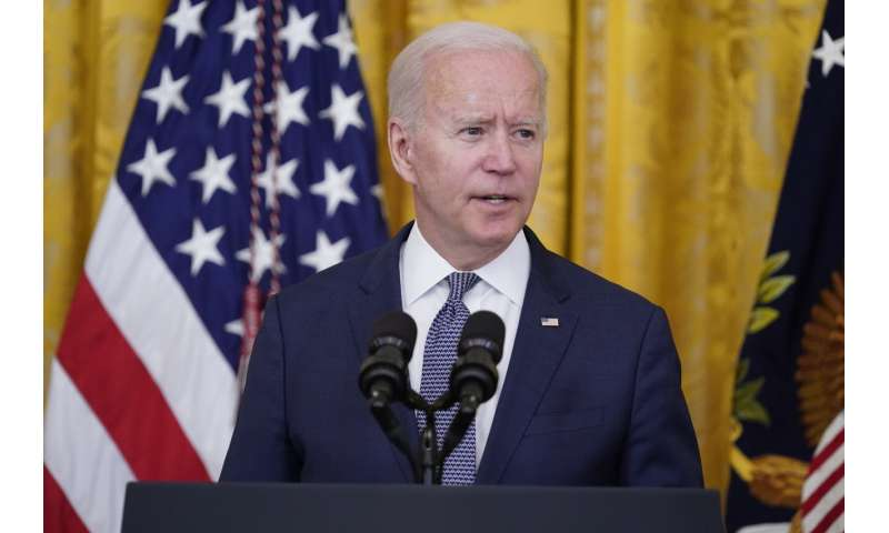 Biden to announce 300M COVID-19 shots given in 150 days