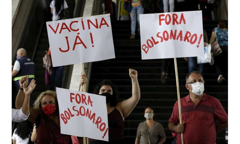 Brazil scrambles to approve virus vaccine as pressure mounts thumbnail