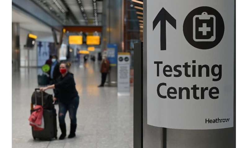 Britain is the latest country to order international travellers to undergo several tests while under quarantine