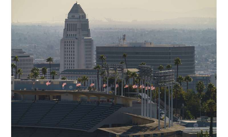 California turns stadiums into COVID-19 vaccination centers