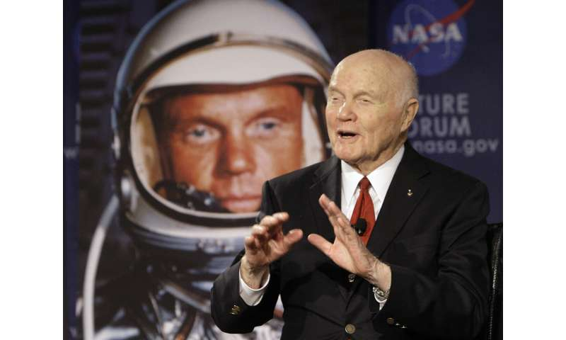 Centennial of ex-astronaut, US Senator John Glenn marked