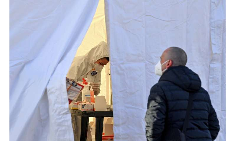 Central Europe's hospitals slammed, can't treat all in need