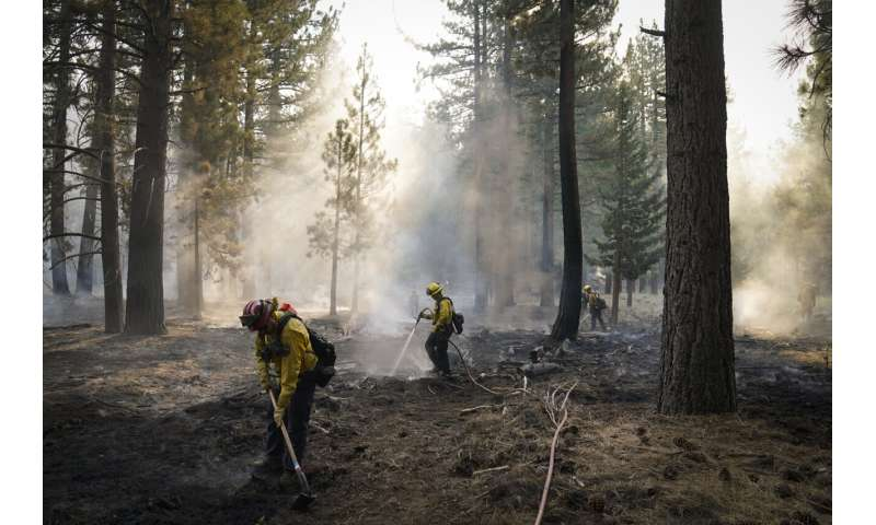 Changing winds provide hope for California wildfire battle