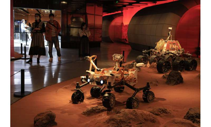 China lands on Mars in major advance for its space ambitions