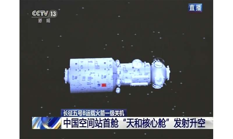 China launches cargo rocket with supplies for space station