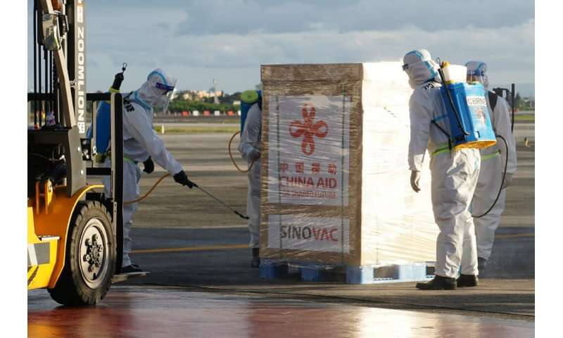 China has pledged to send vaccines overseas to blunt foreign criticism of the virus' initial spread