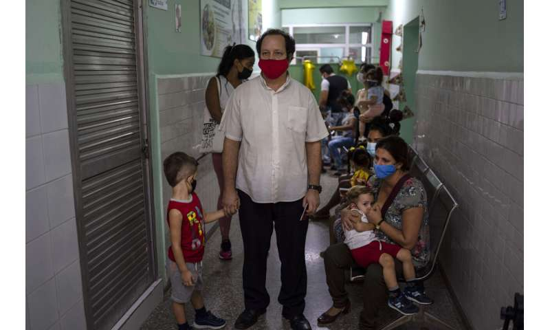 Cuba begins vaccinating children as young as 2