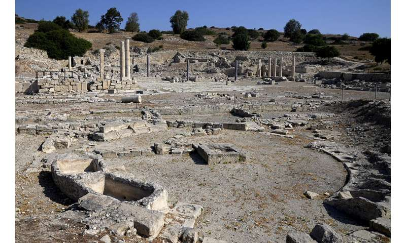 Cyprus showcases ancient undersea harbor to draw tourists