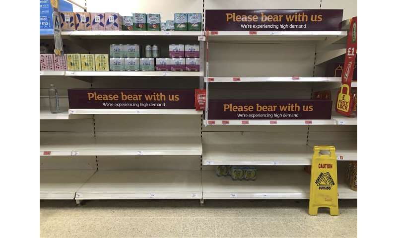 England quarantine rules being relaxed to avoid shortages