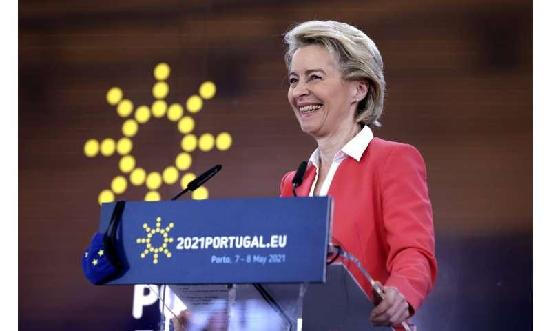 EU agrees potential 1.8 billion-dose purchase of Pfizer jab