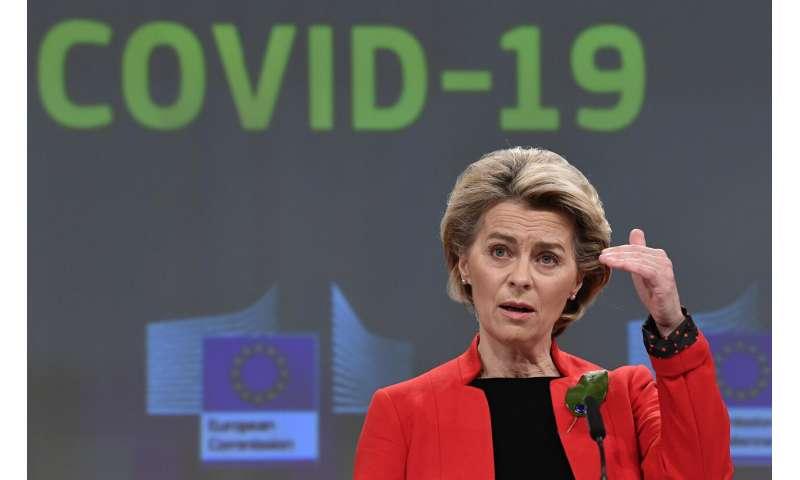 EU chief says AstraZeneca shortfalls slow vaccine campaign