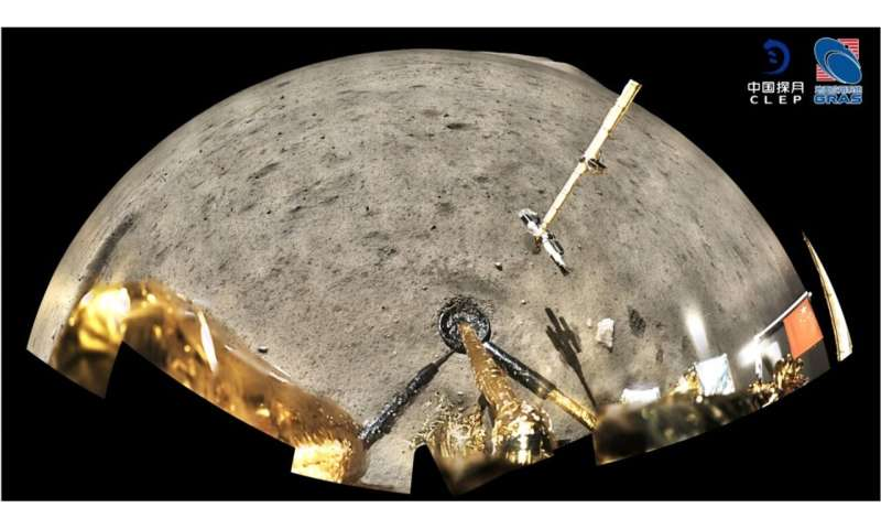 Exotic mix in China's delivery of moon rocks