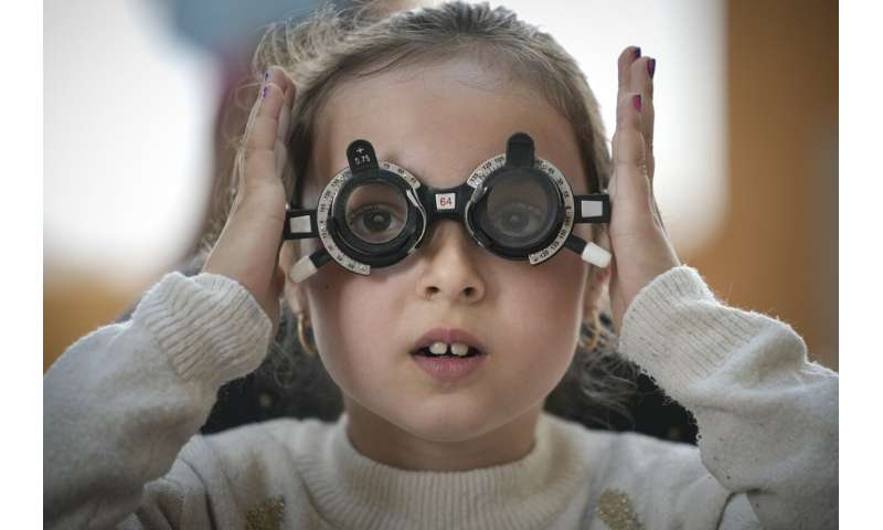 Ophthalmological examinations try to improve the prospects of rural Romanian children