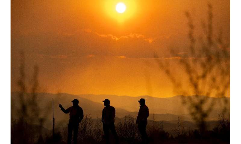 Firefighters in California are battling a dozen different fires a year after the state dealt with some of the worst wildfires in