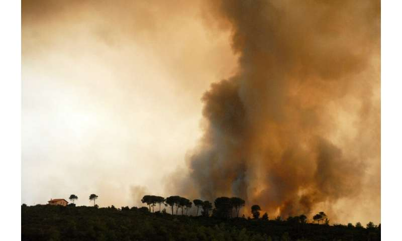 Fires hit parts of Europe most years, and frequently burn protected areas of national park