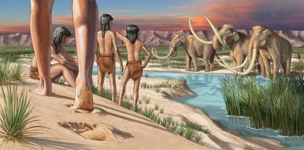 Fossil footprints prove humans populated the Americas thousands of years earlier than we thought