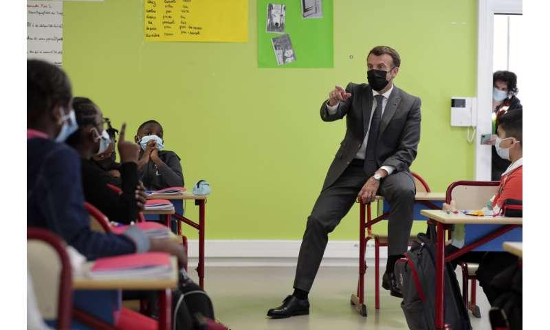 France reopens schools as virus patients numbers peak