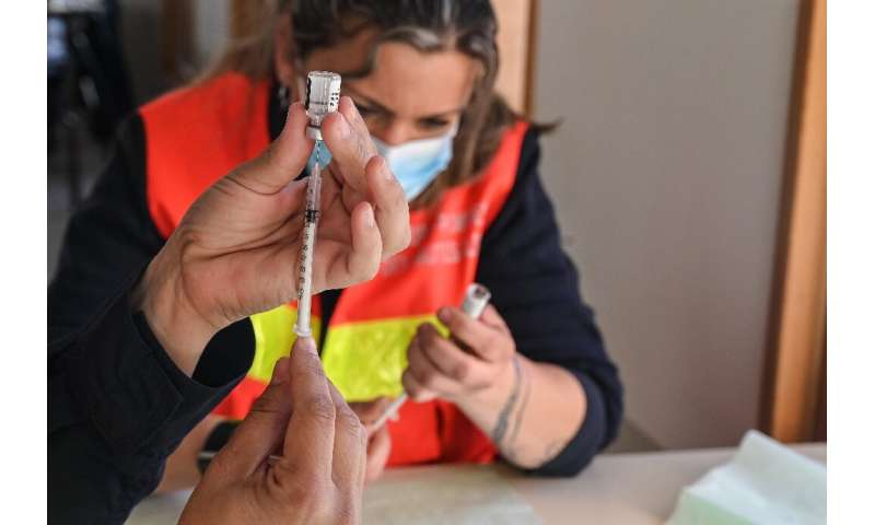 France is battling a worrying surge in coronavirus cases, as it tries to ramp up its vaccination drive