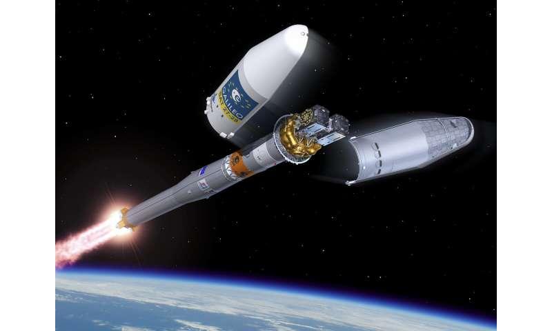 Galileo satellites arrive at Europe's Spaceport