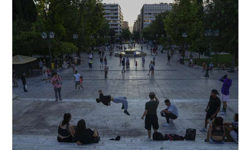 Greece pressures vaccine skeptics as infections surge