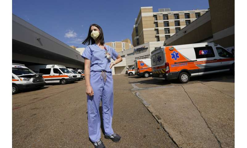 Hospitals in crisis in least vaccinated state: Mississippi
