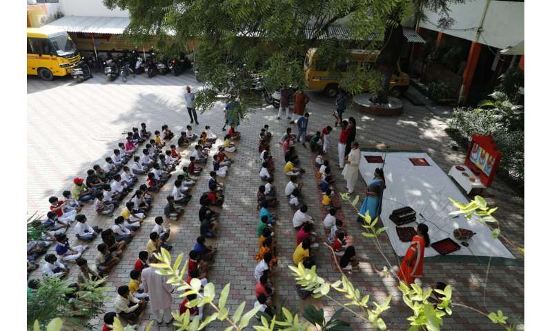 India schools cautiously reopen even as COVID warnings grow