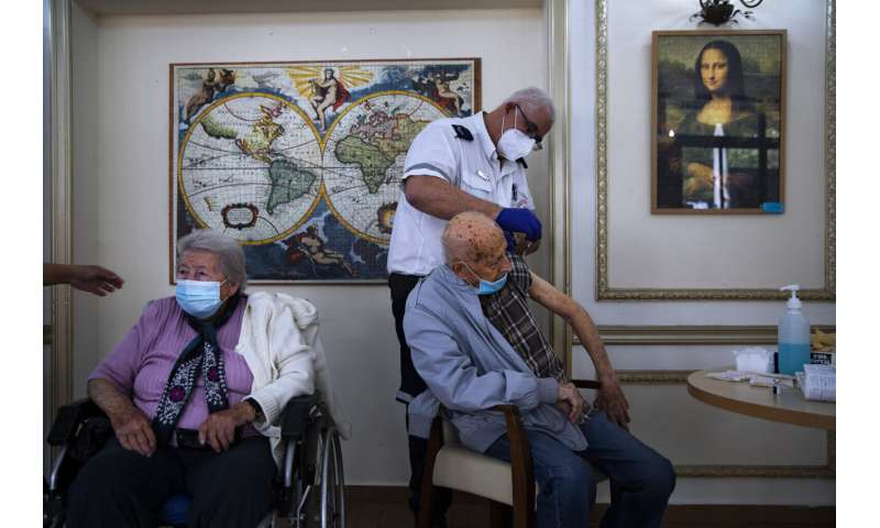 Israel to offer 3rd COVID booster shot to older citizens