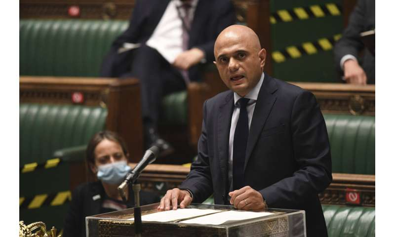Johnson: England to lift last virus restrictions on July 19