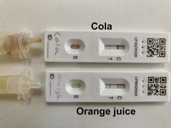 Kids are using soft drinks to fake positive COVID-19 tests – I've worked out the science and how to spot it
