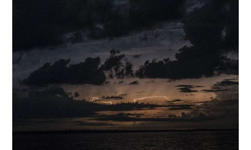 Lake Maracaibo has a unique geography and climatology ideal for the development of thunderstorms