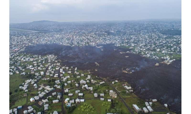 Lava from Congo's volcano eruption emits toxic gas, 7 dead