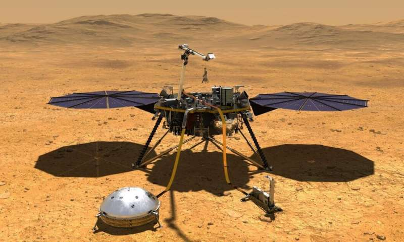 Mars InSight: mission unveils surprising secrets of red planet's interior – new research