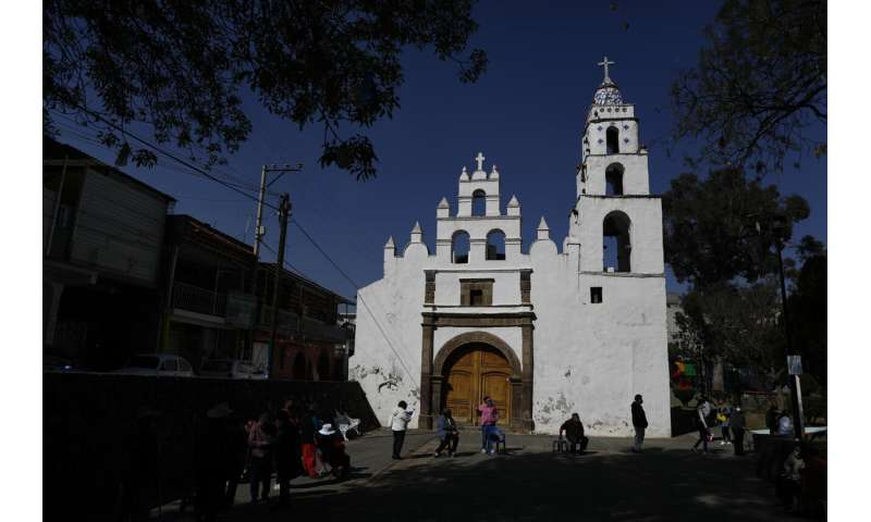 Mexico City exhales as COVID-19 infections fall