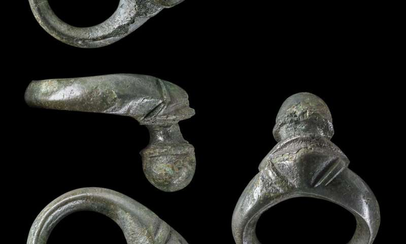 One of the biggest Iron Age weapon hoards in western Germany unearthed