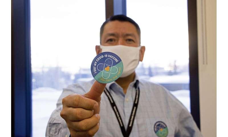 Remote Alaska villages boast high vaccination rates