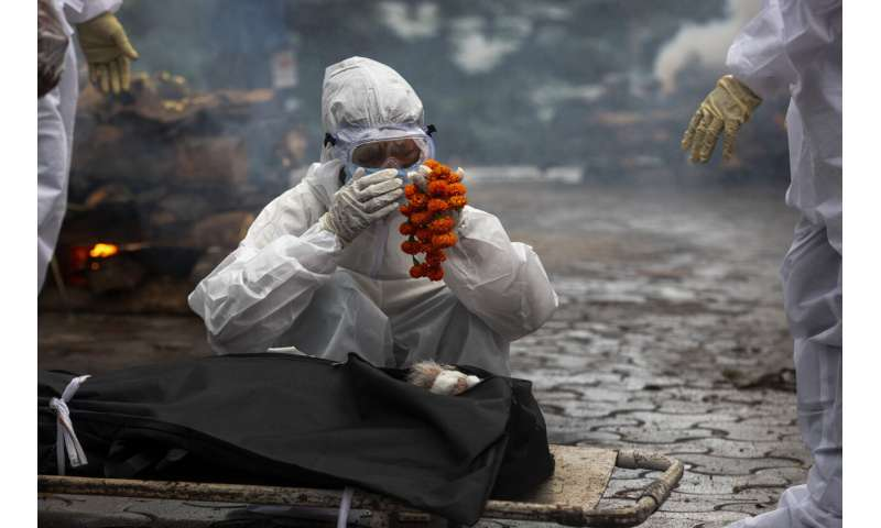 Research: India's deaths during pandemic 10X official toll