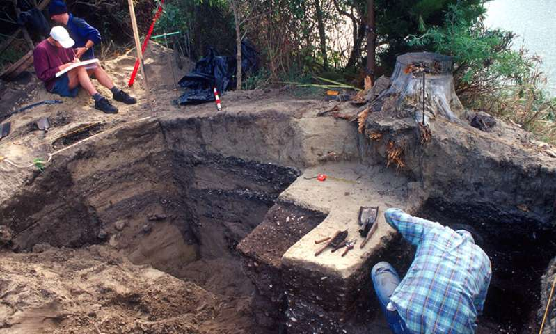 Researchers report discovery of ancient kumara pits