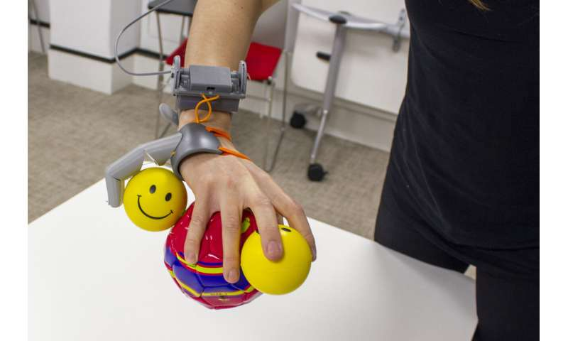Robotic 'Third Thumb' use can alter brain representation of the hand