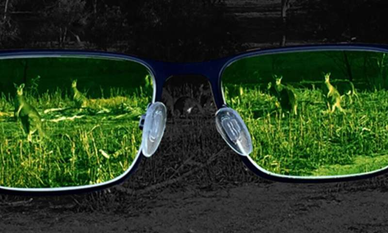 Seeing the invisible: tiny crystal films could make night vision an everyday reality