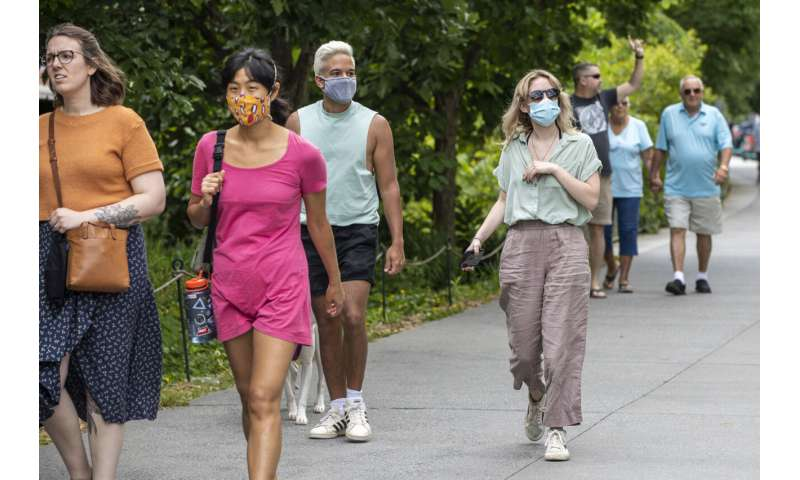 Some aren't ready to give up masks despite new CDC guidance