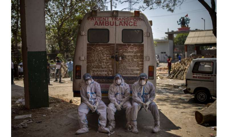 SOS messages, panic as virus breaks India's health system