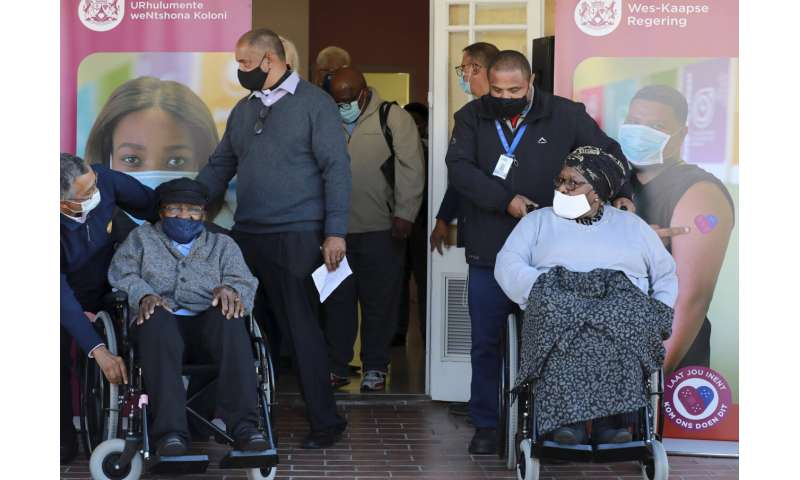 South Africa ramps up vaccine drive, too late for this surge