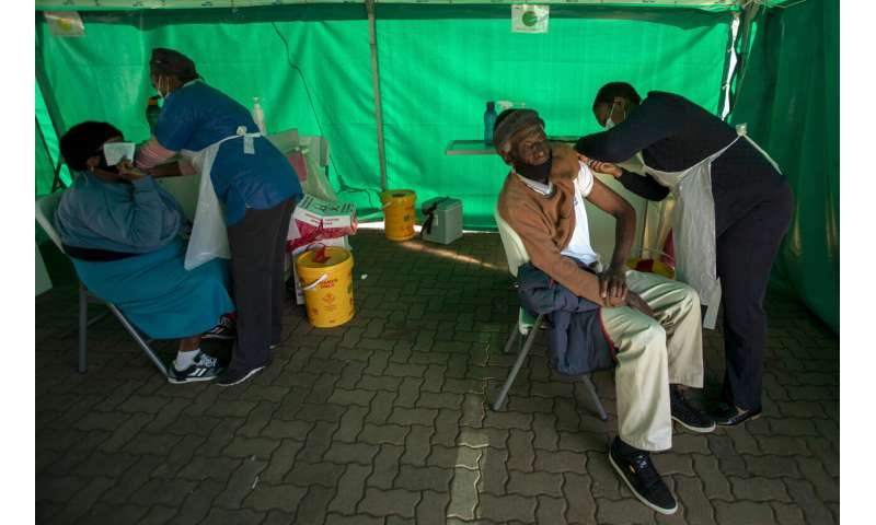 South Africa starts jabs for elderly as virus surge looms