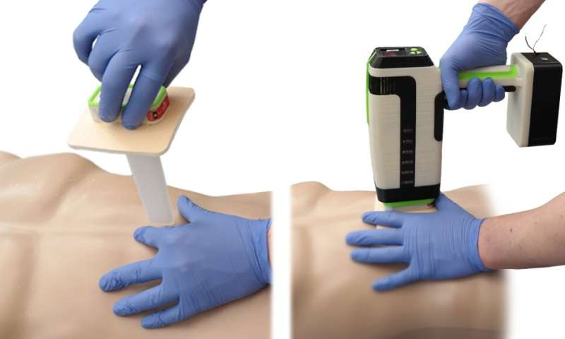 Student designs life-saving device that rapidly stops bleeding from knife wounds