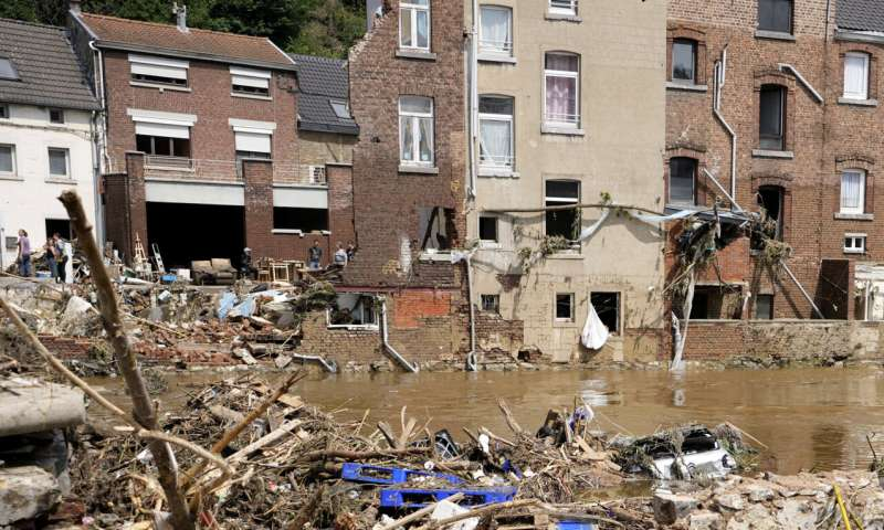 Study: Climate change makes European flooding more likely